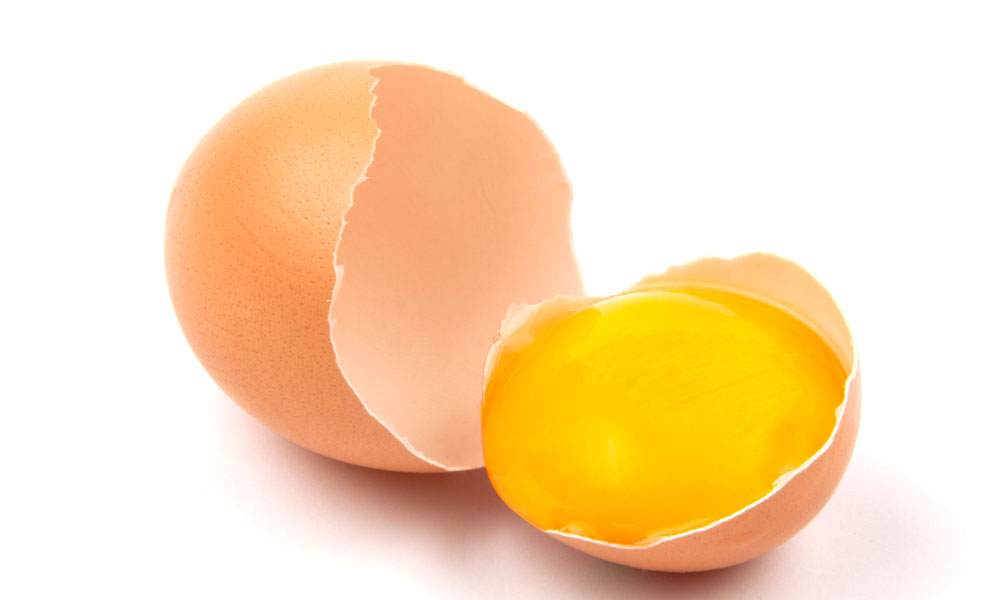 Egg Yolk Treatment for Stronger Shinier Hair